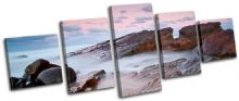 Beautiful Fog Sunset Seascape - 13-0300(00B)-MP07-LO